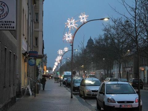 energieeffiziente Straßenbeleuchtung