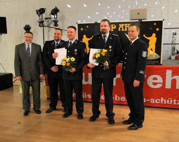 Jubilar 10 Jahre Feuerwehr (Mittel)