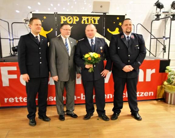 Jubilar 25 Jahre Feuerwehr (Mittel)